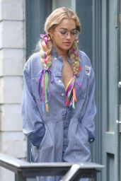 Rita Ora Street Style - Out In NYC 07/17/2016