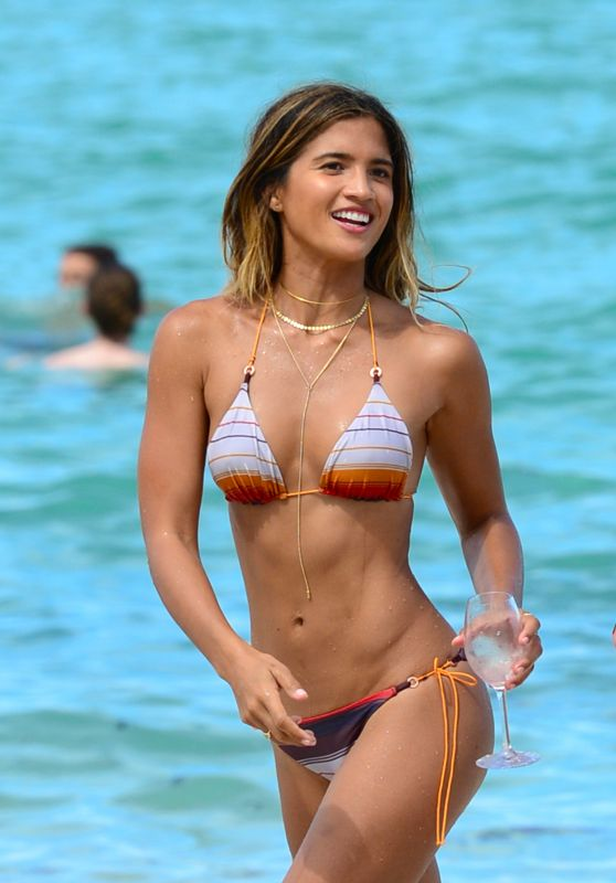 Rocky Barnes Hot in Bikini - Miami Beach 7/13/2016