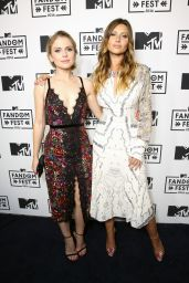 Rose McIver and Teresa Palmer - MTV Fandom Awards in San Diego 7/21/2016