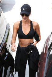 Rosie Huntington-Whiteley at the Gym in West Hollywood 7/1/2016
