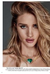 Rosie Huntington-Whiteley - Vogue Magazine Germany August 2016 Issue