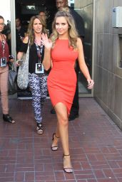 Ryan Newman in Red Dress - San Diego Comic Con 7/22/2016