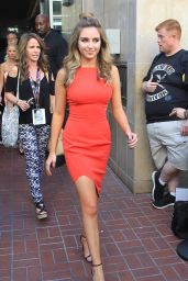 Ryan Newman in Red Dress - San Diego Comic Con 7/22/2016