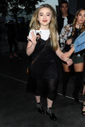 Sabrina Carpenter Arriving to Selena Gomez concert in Los Angeles 7/8/2016