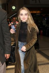 Sabrina Carpenter at LAX AIrport in Los Angeles 6/30/2016