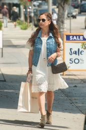 Sarah Michelle Gellar - Shopping in Los Angeles, June 2016