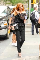 Sarah Rafferty Classy Fashion - NYC 7/14/2016