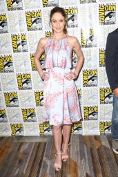 Sarah Wayne Callies – 'Colony' Press Line at the San Diego Comic-Con 7/21/2016