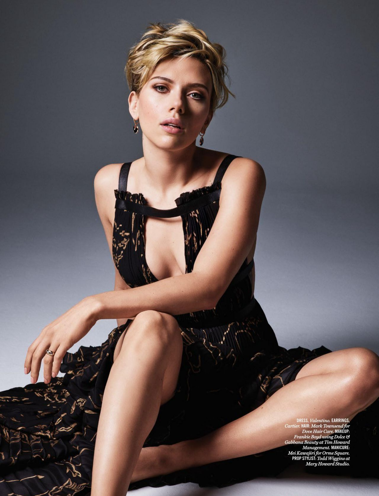 Scarlett Johansson – Cosmopolitan Magazine Sri Lanka July 2016 Issue