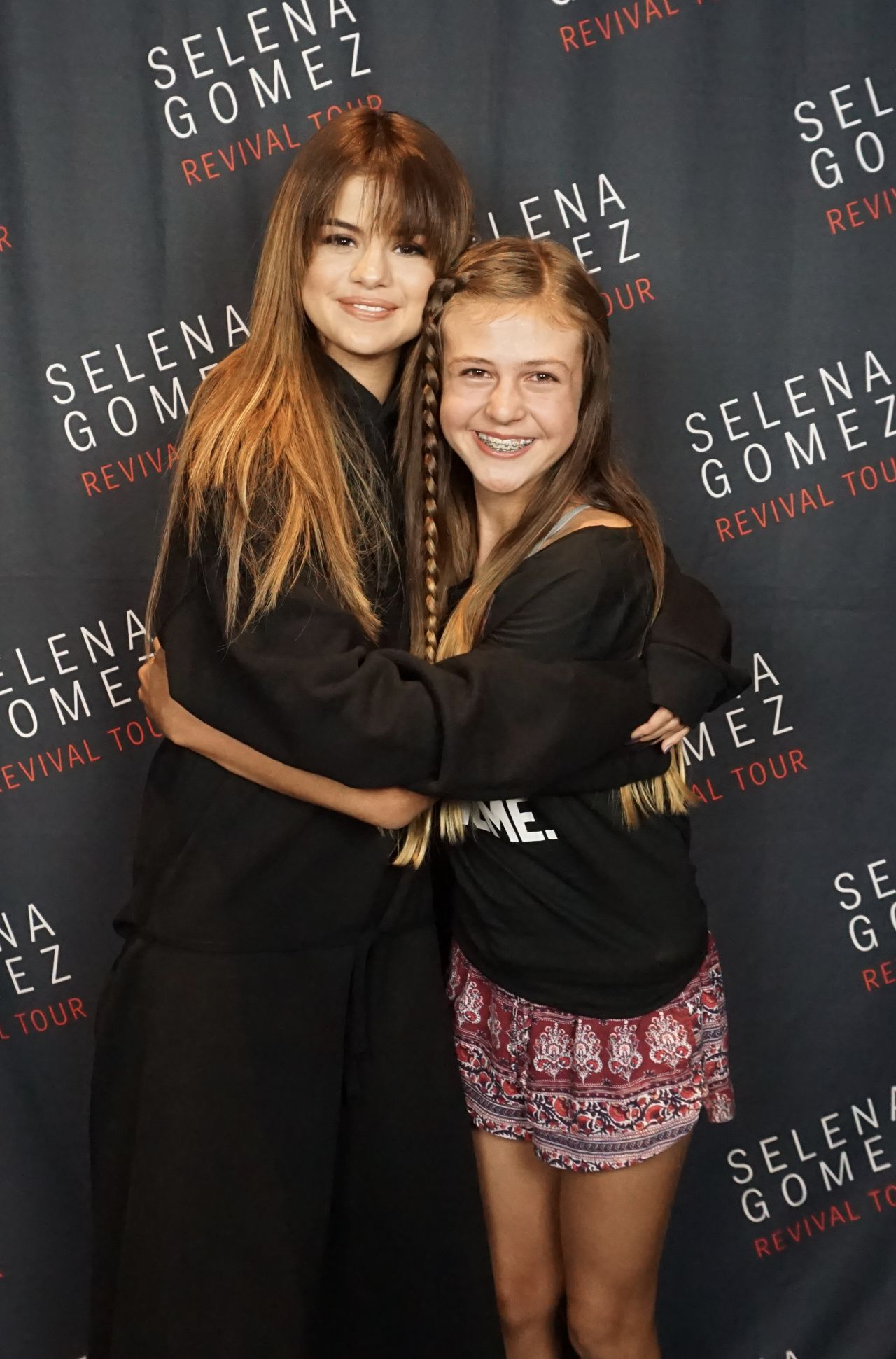 Selena Gomez Meet Greet At The Revival World Tour At The Xcel