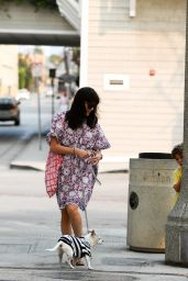 Selma Blair - Heads to the Beach in Santa Monica 7/23/2016