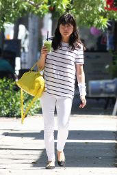 Selma Blair Leaving The Orange Tree Juice Bar in Los Angeles 7/13/2016