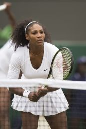 Serena & Venus Williams - Doubles semi Final Match in Wimbledon 7/8/2016