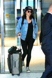 Shailene Woodley at JFK AIrport in New York City 7/17/2016