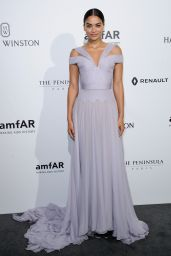 Shanina Shaik - Amfar Dinner as Part of Paris Fashion Week at the Peninsula Hotel in Paris 7/3/2016