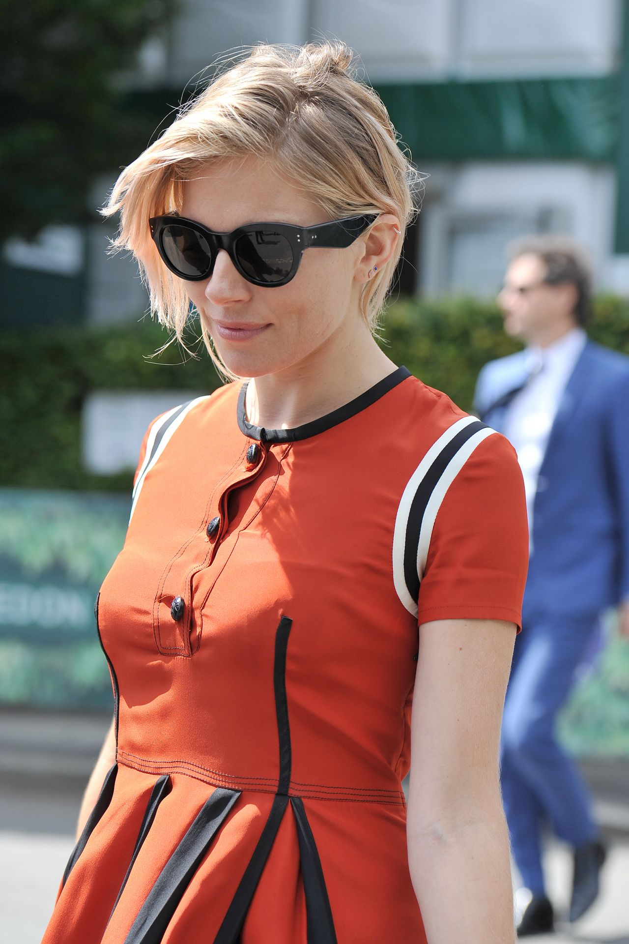 Sienna Miller – Arriving for The Championships in Wimbledon in London 7/5/2016