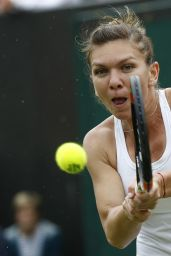 Simona Halep – Wimbledon Tennis Championships in London 2nd Round 6/30/2016