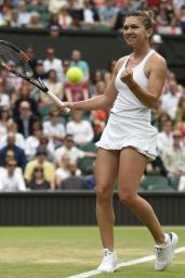 Simona Halep – Wimbledon Tennis Championships in London – 3rd Round