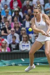 Simona Halep - Wimbledon Tennis Championships in London - Quarterfinals