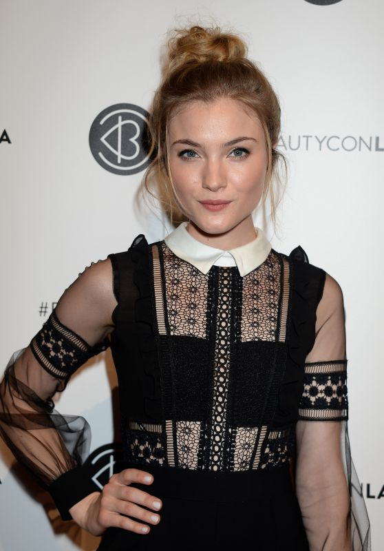 Skyler Samuels - Beautycon Festival in Los Angeles, July 2016