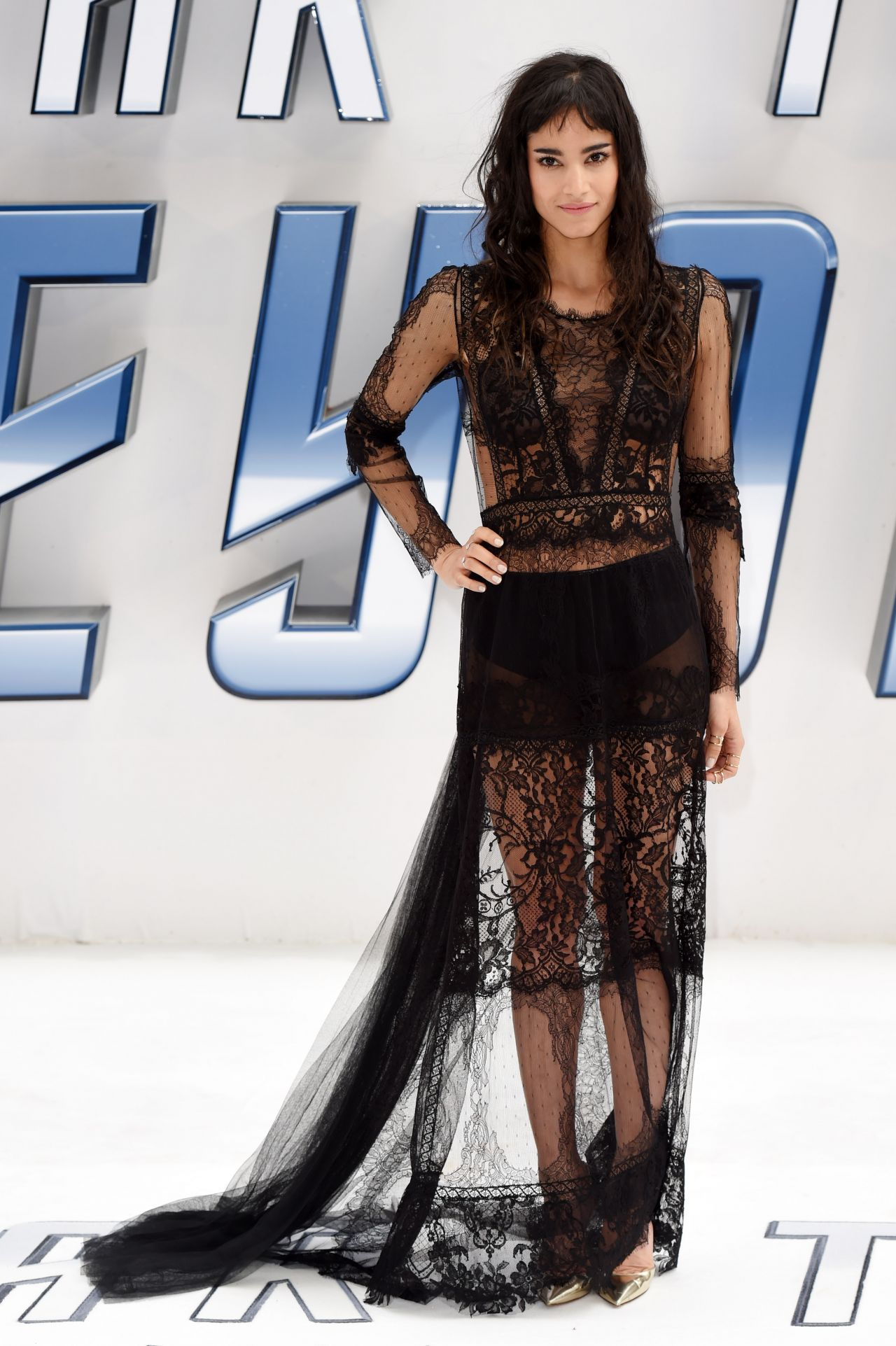 Sofia Boutella - Star Trek: Beyond Premiere in London