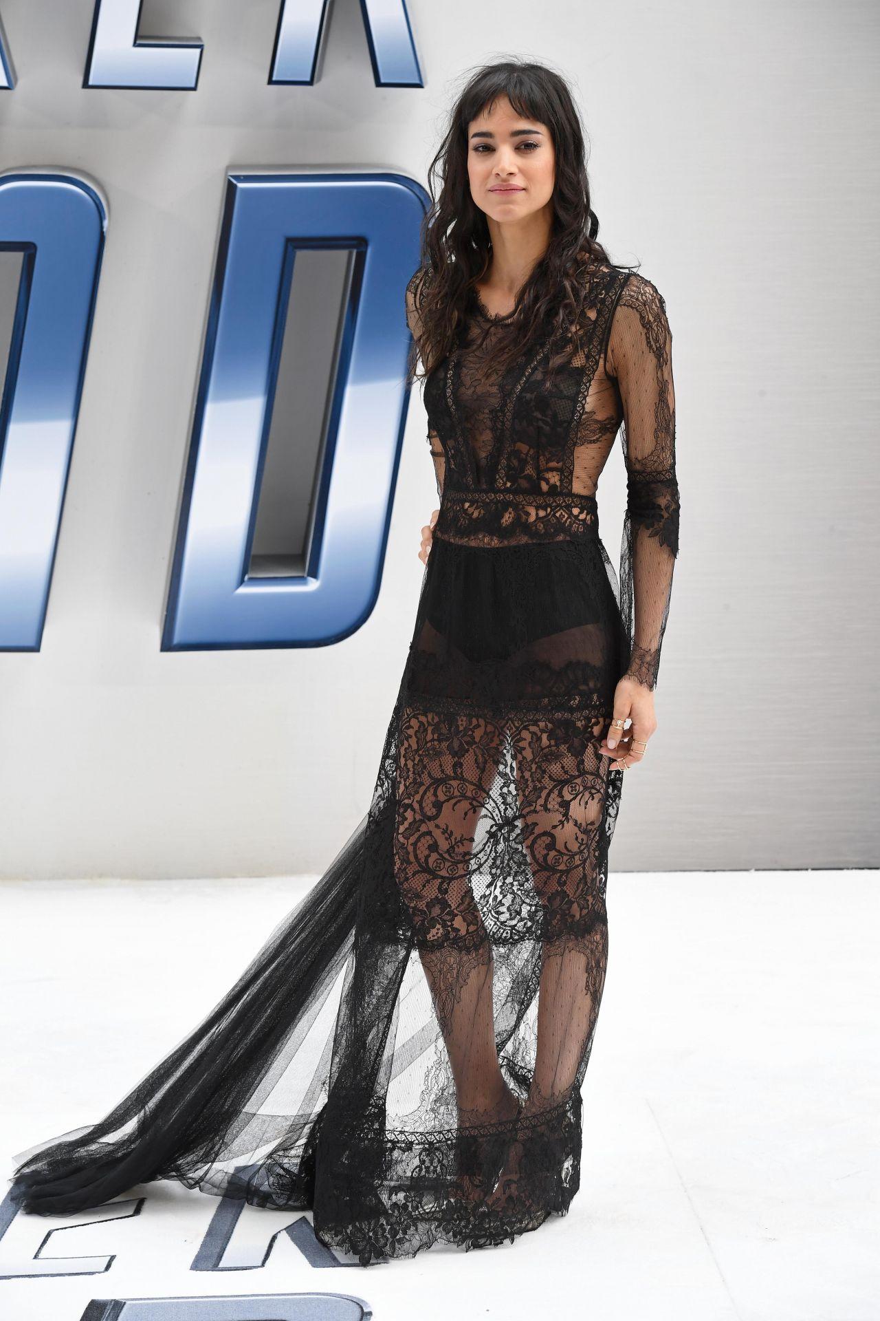 Sofia Boutella Star Trek Beyond Premiere In London