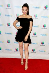 Sofia Carson - On the Set of Univision