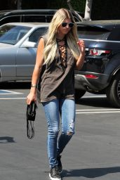 Sofia Richie at Fred Segal in Los Angeles 7/1/2016