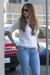 Sofia Vergara Street Style - Out in West Hollywood 6/30/2016