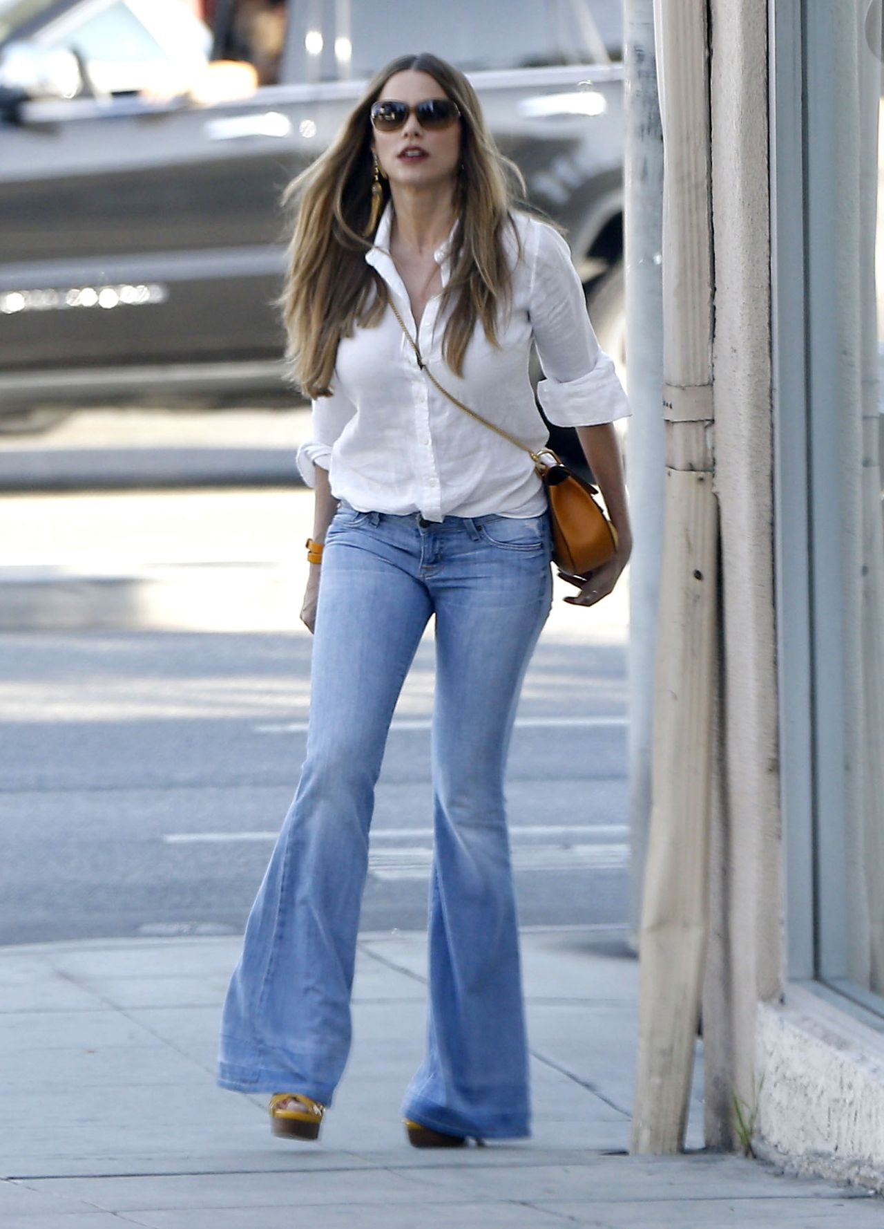 Sofia Vergara Street Style Out In West Hollywood 6 30 2016