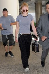 Sophie Turner at LAX Airport in Los Angeles 7/16/2016