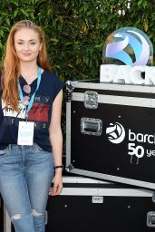 Sophie Turner - Baclaycard Presents British Summer Time Festival in Hyde Park in London, July 2016