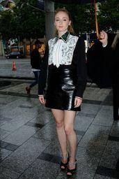 Sophie Turner - Miu Miu Haute Couture Fall/Winter 2016/17 - Paris Fashion Week 7/3/2016