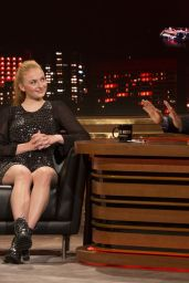Sophie Turner on Late Motiv in Madrid, June 2016