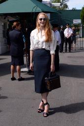 Sophie Turner – Wimbledon Tennis Championships 7/7/2016