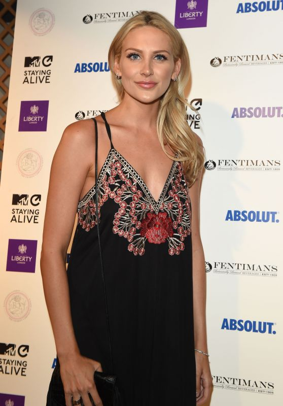 Stephanie Pratt - MTV Staying Alive x Liberty London Cocktail Reception, July 2016
