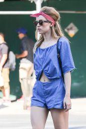 Suki Waterhouse Street Style - New York City, 07/19/2016