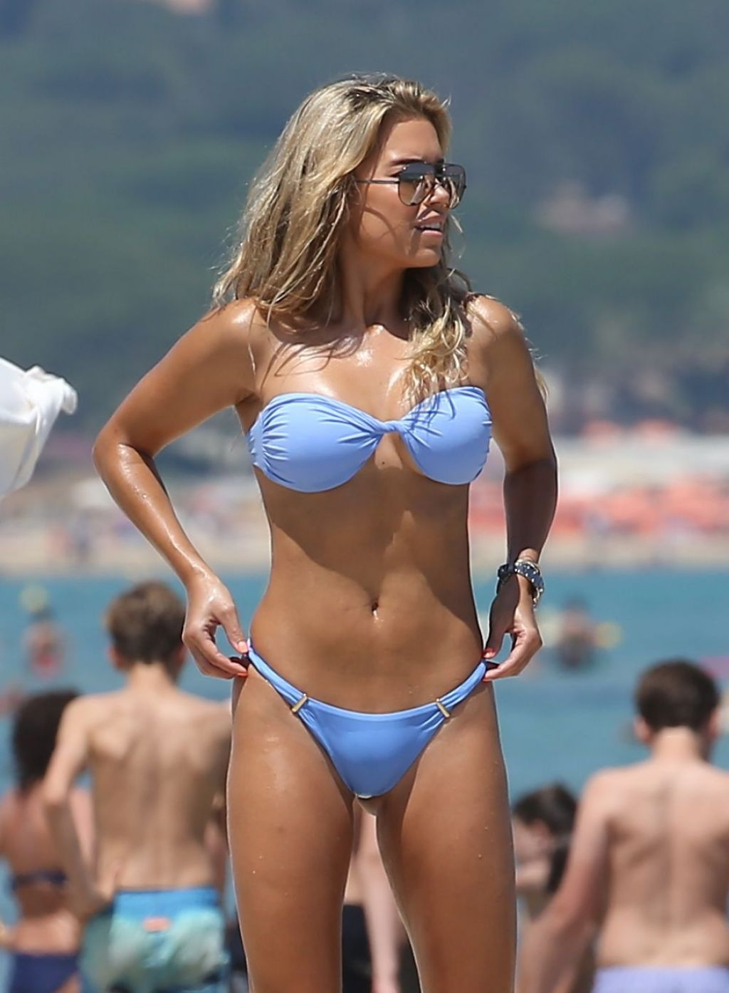 Sylvie Meis Bikini Candids St Tropez July 2016