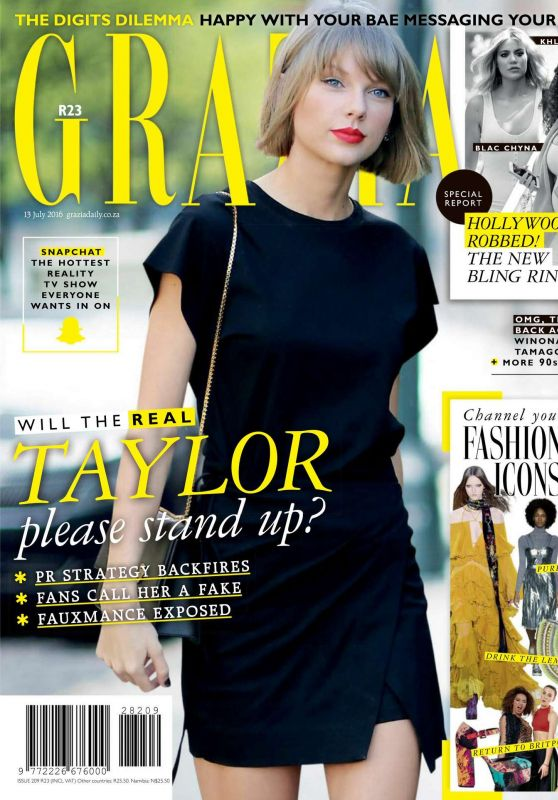 Taylor Swift - Grazia South Africa July 2016 Issue