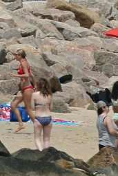 Taylor Swift in Red Bikini - Rhode Island 7/3/2016