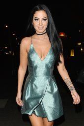Tulisa Contostavlos Night Out Style - London 7/17/2016