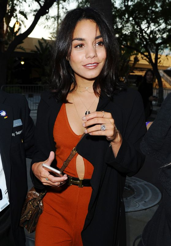 Vanessa Hudgens Arriving to Selena Gomez Concert in Los Angeles 7/8/2016