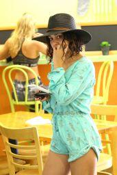 Vanessa Hudgens Street Style - Los Angeles, July 2016