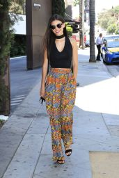 Victoria Justice -Photoshoot on Sunset Boulevard in Los Angeles 7/27/2016