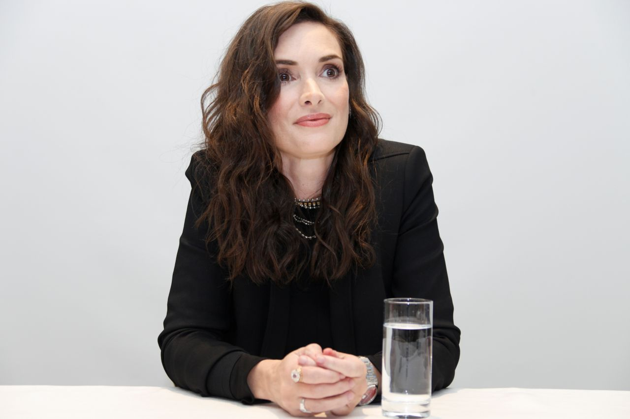 Winona Ryder - 'Stranger Things' Press Conference in ...