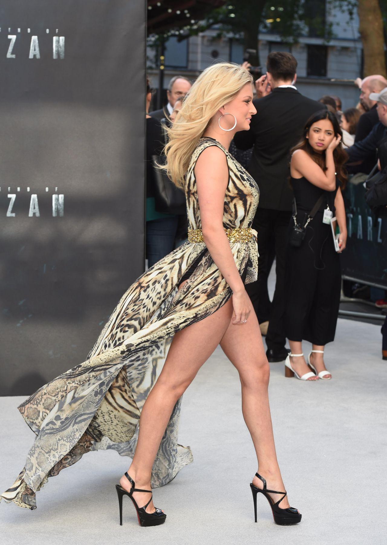 Zara Holland - The Legend Of Tarzan Premiere In London-9516