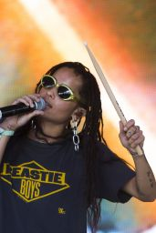 Zoe Kravitz - Performs with Lolawolf at the Bonnaroo Music Festival in Manchester, Tennessee, June 2016