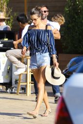 Alessandra Ambrosio - Leaving Soho House in Malibu 8/28/2016