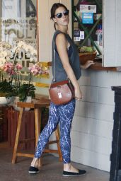Alessandra Ambrosio - Out in Brentwood 8/25/2016