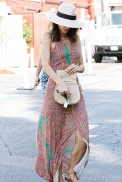 Alessandra Ambrosio - Out in Brentwood 8/29/2016